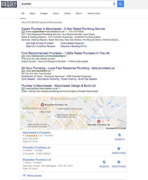 Screen Shot 2016 10 30 at 10.58.34 - New Google features: local listings news