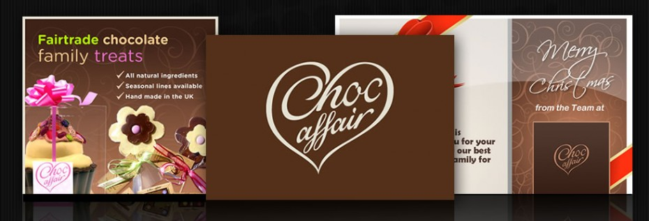 Graphic design for chocolate manufacturers