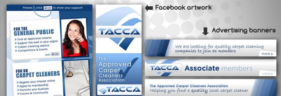 Portfolio BG TACCA3 - Graphic design for UK trade association