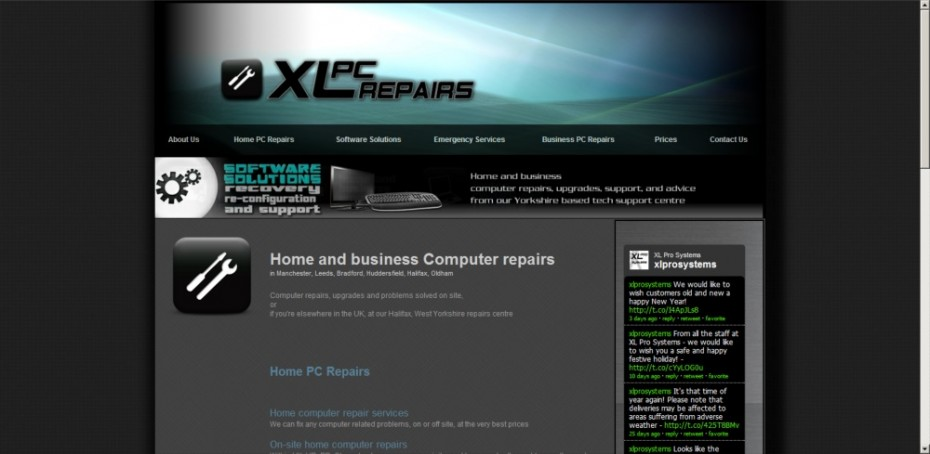 preview115 - Website design for computer repairs company
