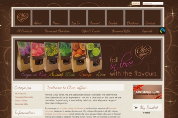 preview122 600x400 - Website design for chocolate manufacturers
