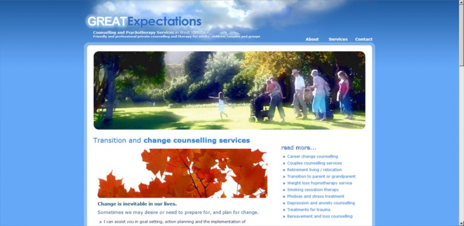 preview123 - Website design for counsellor & therapist