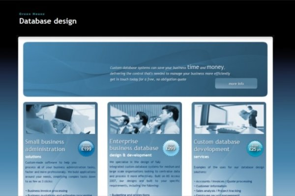 preview124 600x400 - Website design for database design company