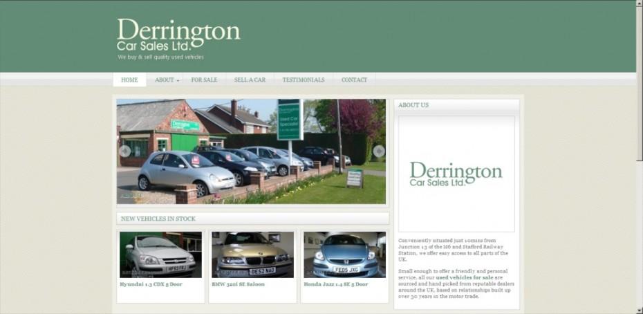 preview126 - Used car dealership website design