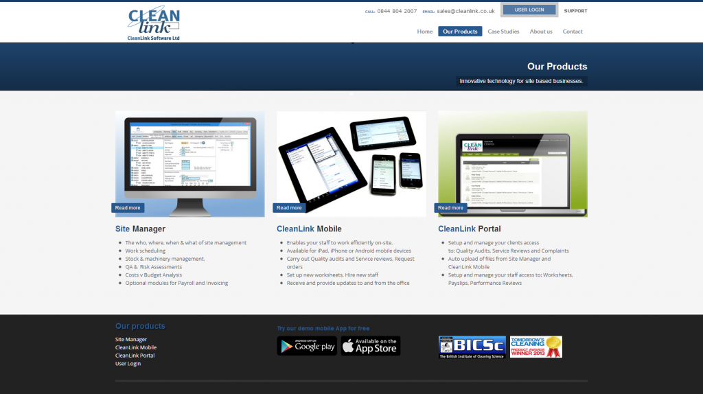 Software developers webdesign service portfolio 3