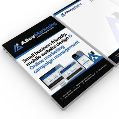 ALLOY STATIONERY FLYER14x3 400x400 - Flyer Printing & Design printing