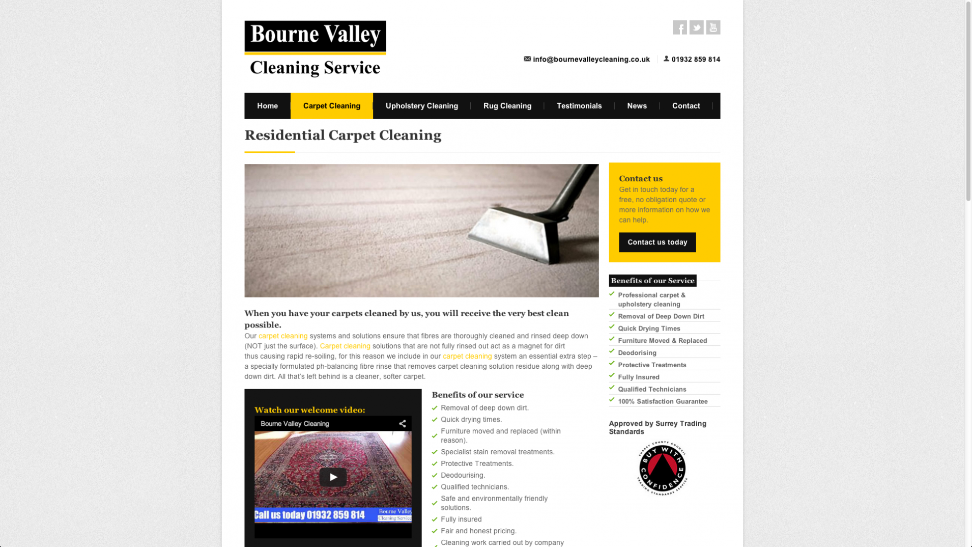Screen Shot 2013 12 23 at 16.21.44 - Web design and marketing for Surrey based cleaning company