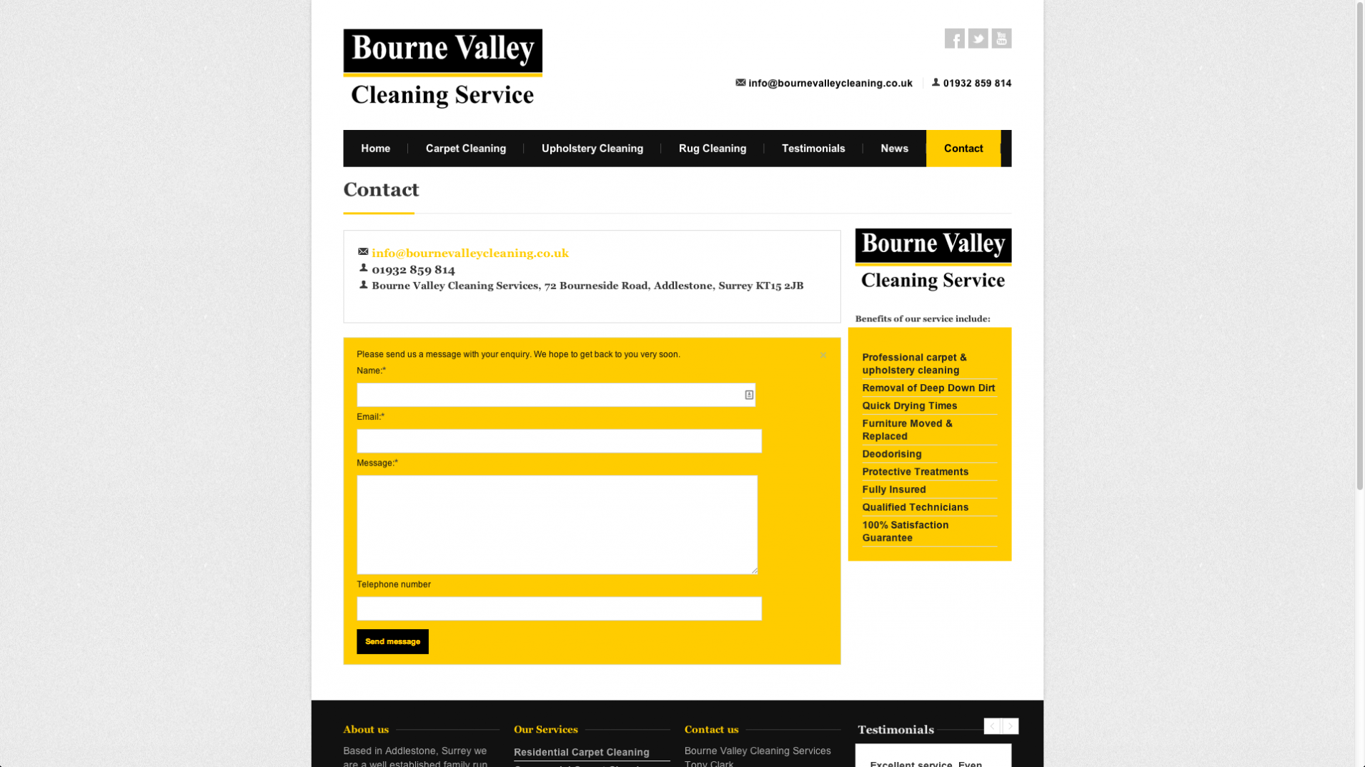 Screen Shot 2013 12 23 at 16.21.52 - Web design and marketing for Surrey based cleaning company