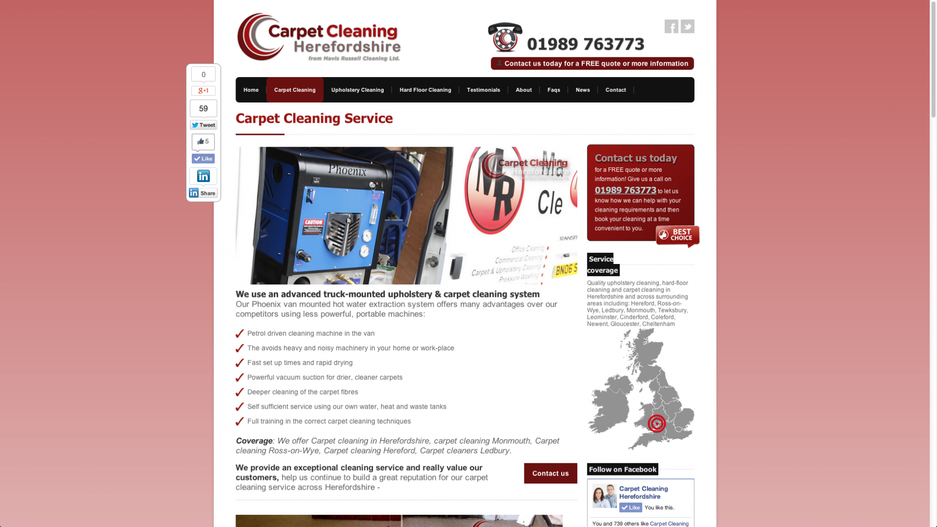 Screen Shot 2013 12 23 at 16.22.35 - Website design for floorcare company