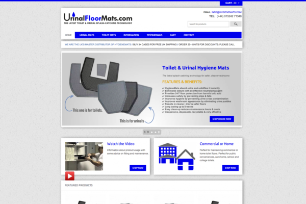 Screen Shot 2013 12 23 at 16.25.57 600x400 - Webdesign for cleaning equipment suppliers