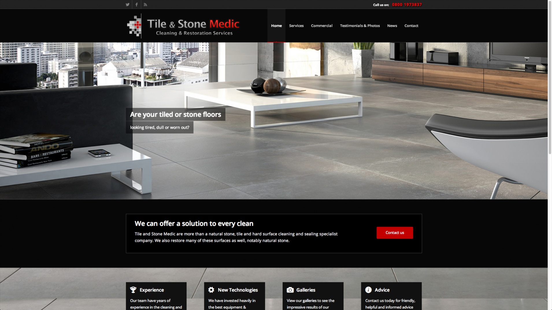 Screen Shot 2013 12 23 at 16.36.56 - Website design for nationwide stone floor restoration company