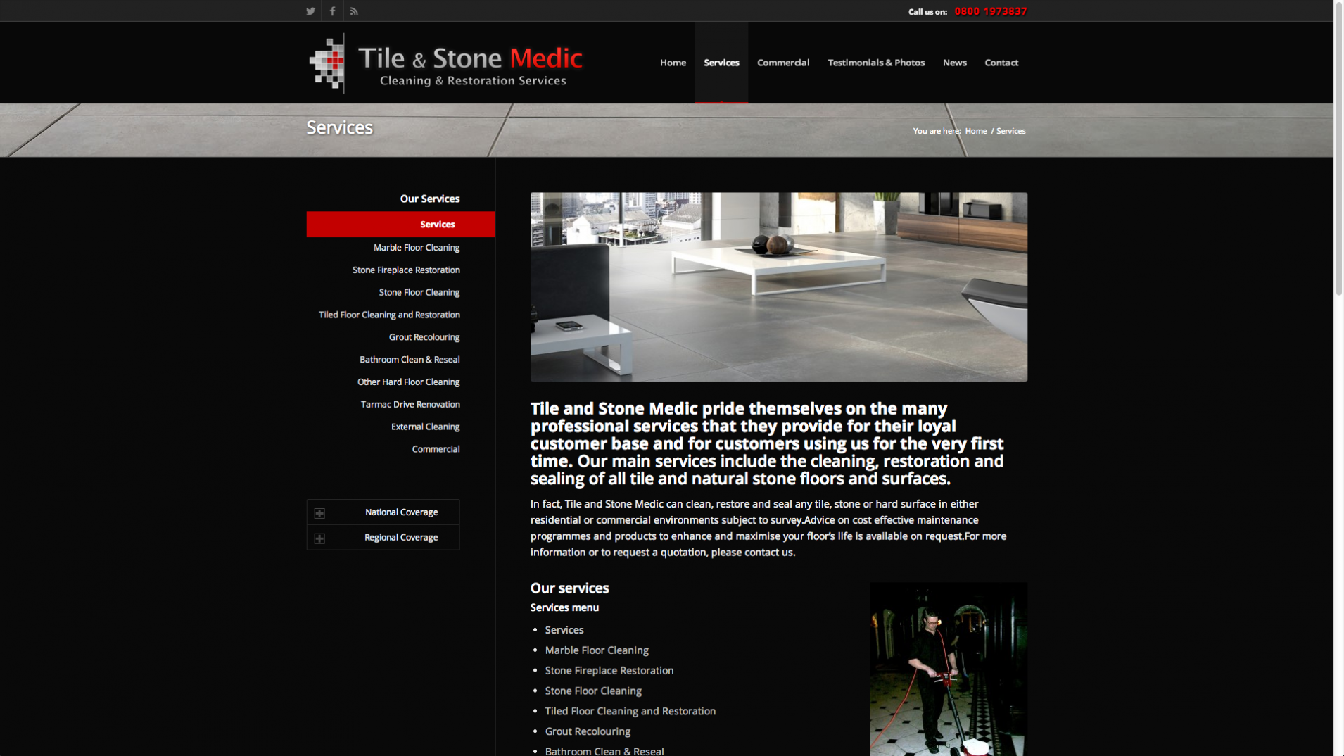 Screen Shot 2013 12 23 at 16.37.56 - Website design for nationwide stone floor restoration company