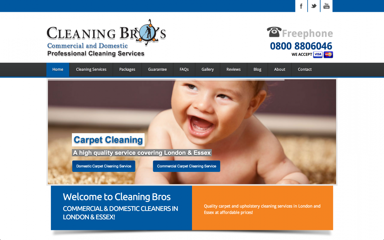 Screen Shot 2014 05 27 at 16.40.01 - Webdesign for commercial cleaning service provider