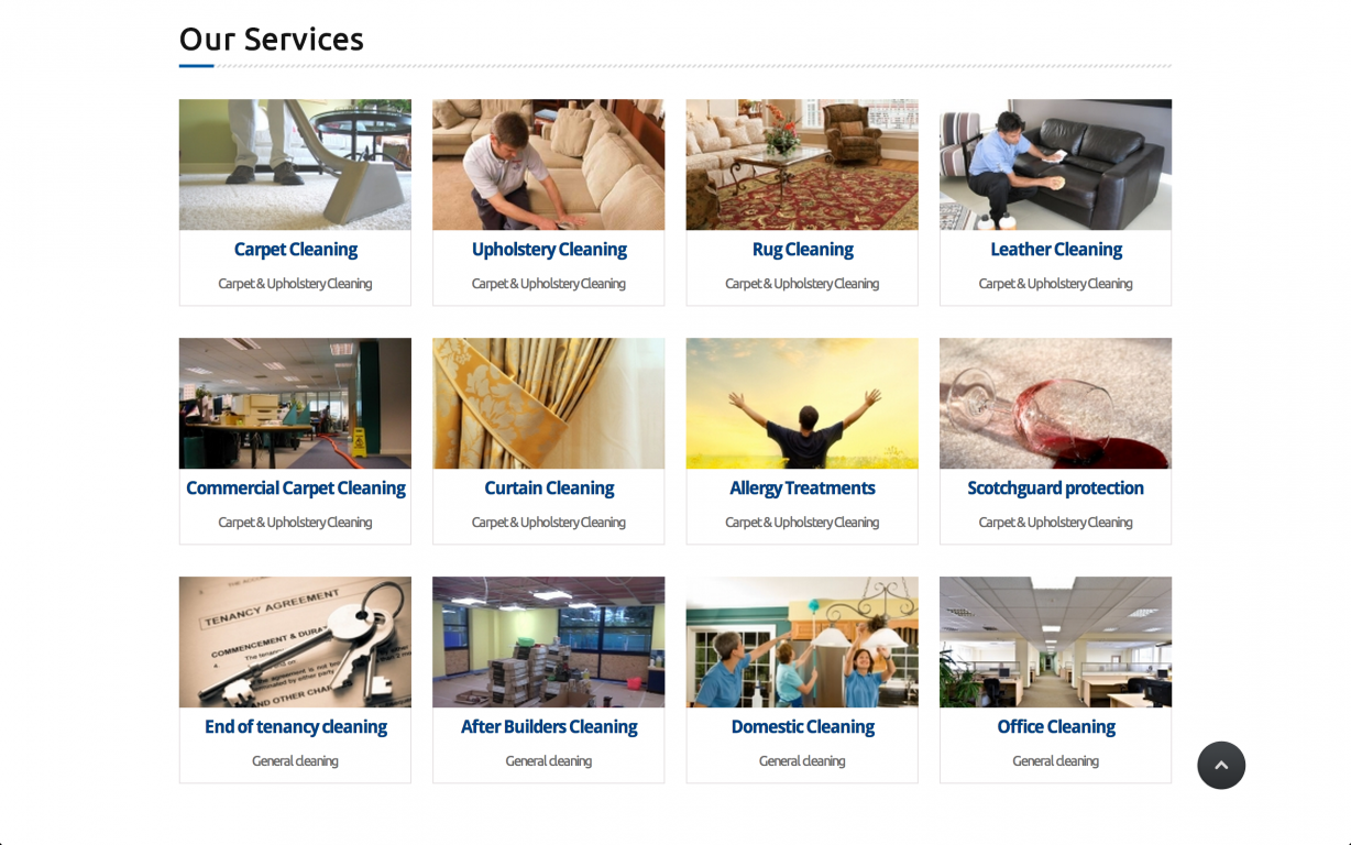 Screen Shot 2014 05 27 at 16.41.02 - Webdesign for commercial cleaning service provider