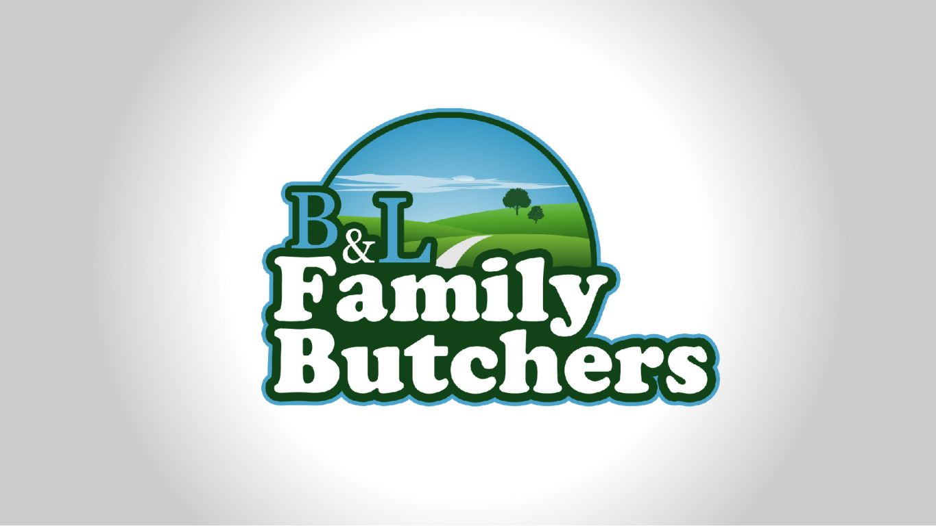 butchers logo design alloy marketing 01 - Logo design for family butchers company