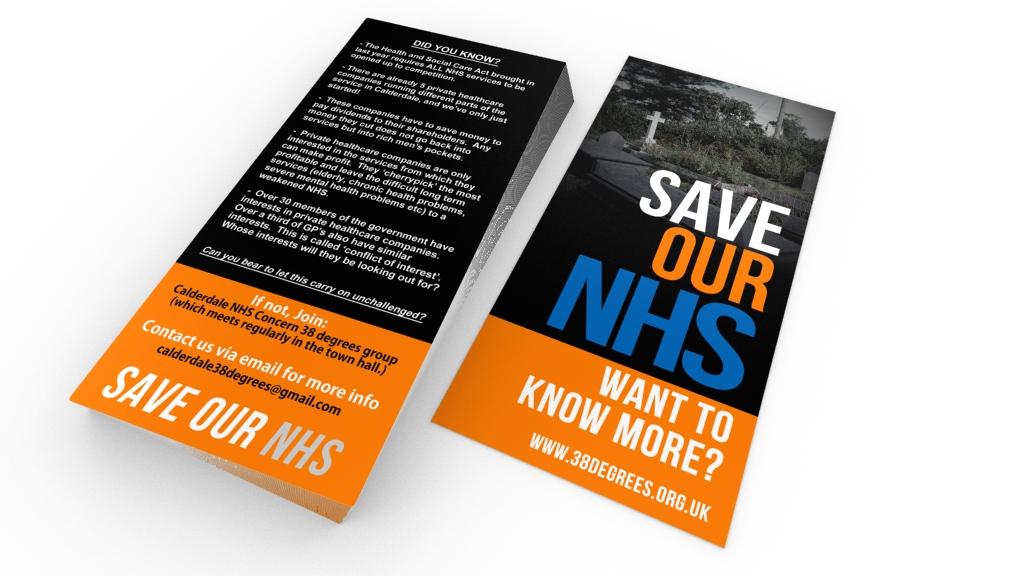 38d2 - Non-profit charity campaign flyer design