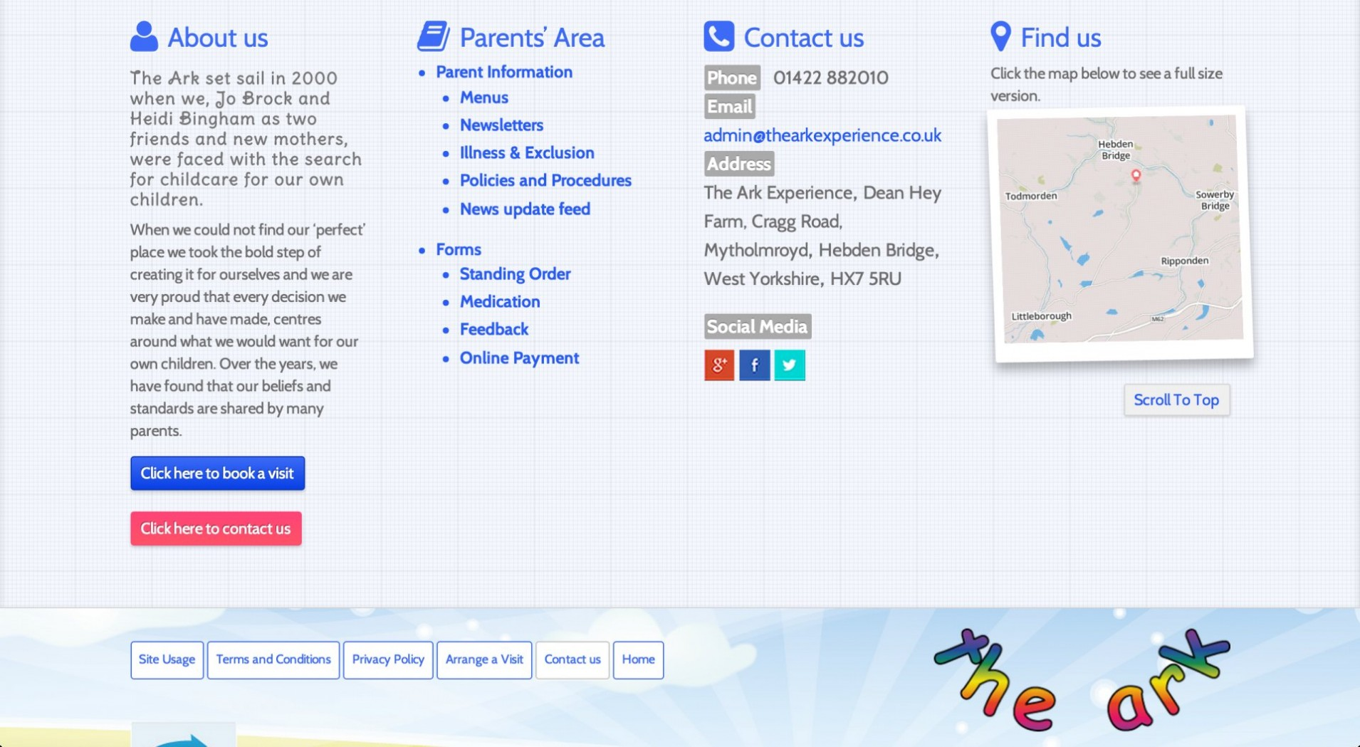Screen Shot 2014 11 25 at 16.29.42 1 - Webdesign for nursery and childcare centre