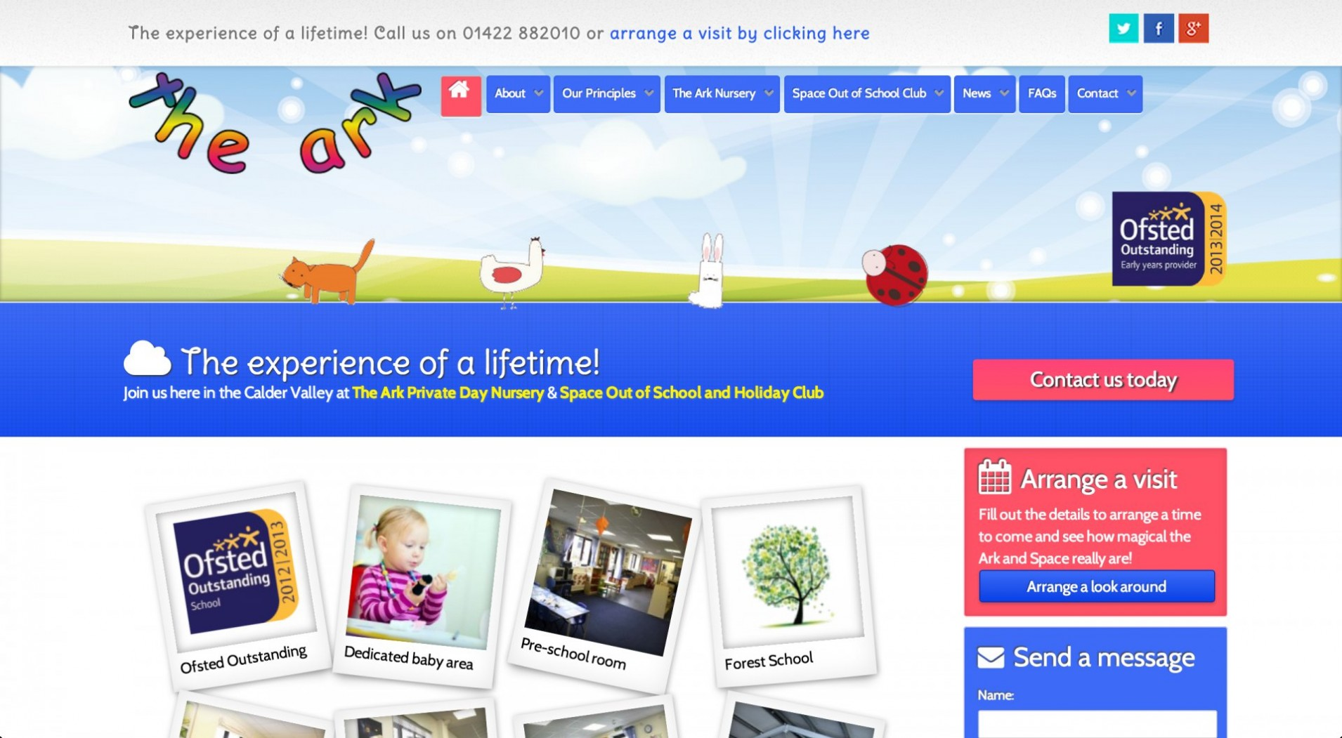 Screen Shot 2014 11 25 at 17.02.08 1 - Webdesign for nursery and childcare centre