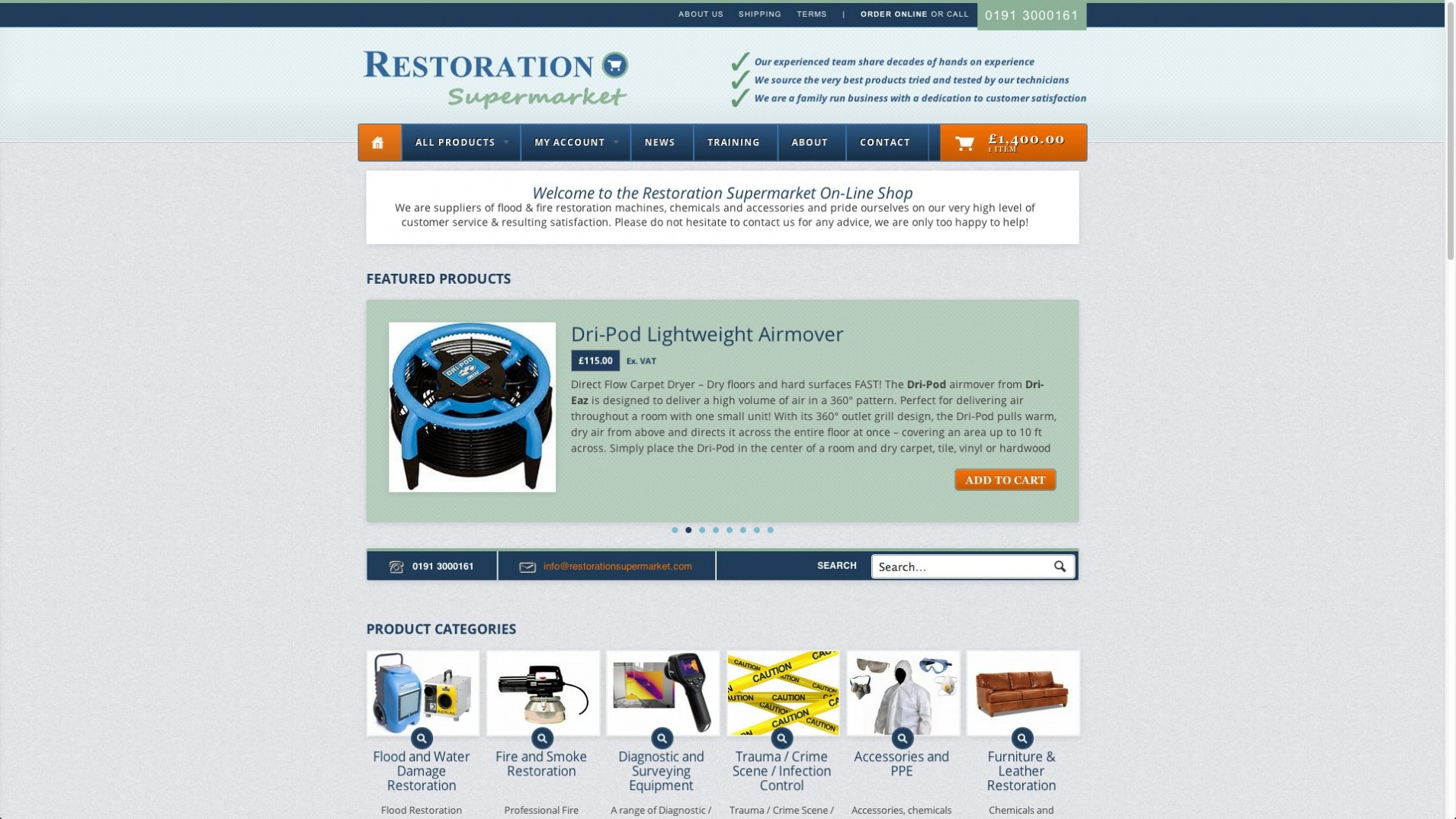 Screen Shot 2013 12 23 at 16.33.48 1 - E-commerce webdesign for cleaning equipment supplier