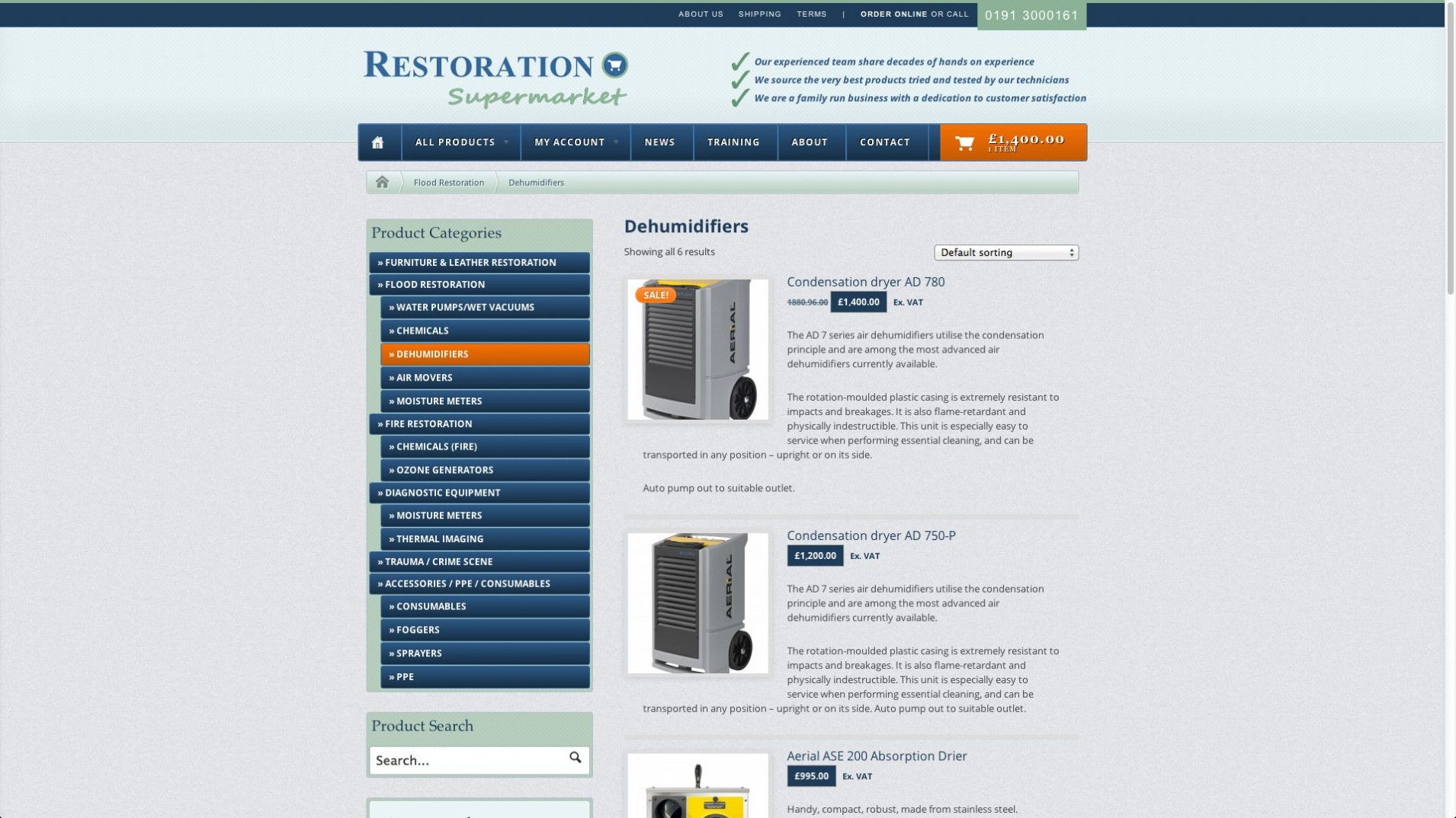 Screen Shot 2013 12 23 at 16.34.13 1 - E-commerce webdesign for cleaning equipment supplier