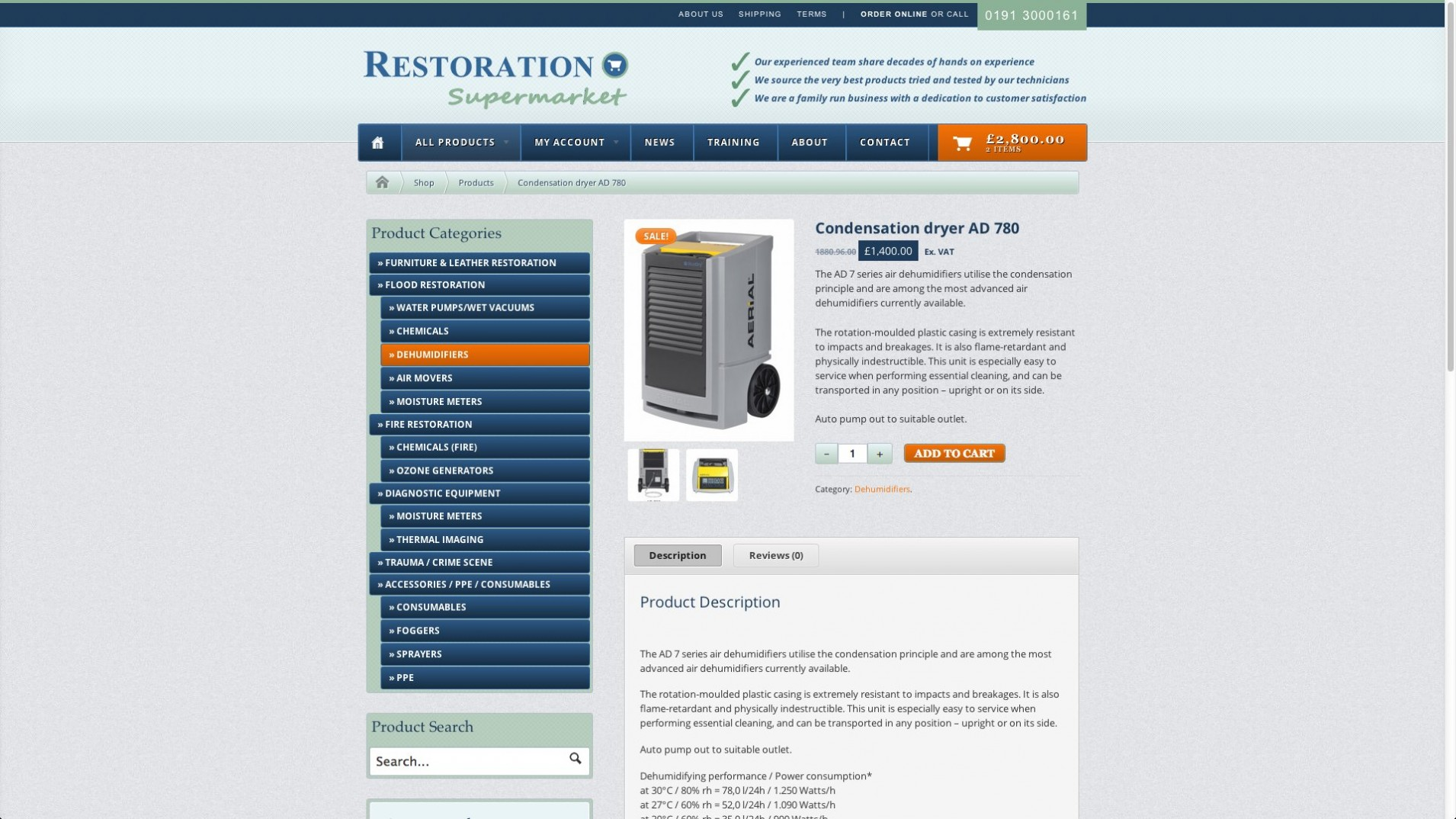 Screen Shot 2013 12 23 at 16.34.25 1 - E-commerce webdesign for cleaning equipment supplier