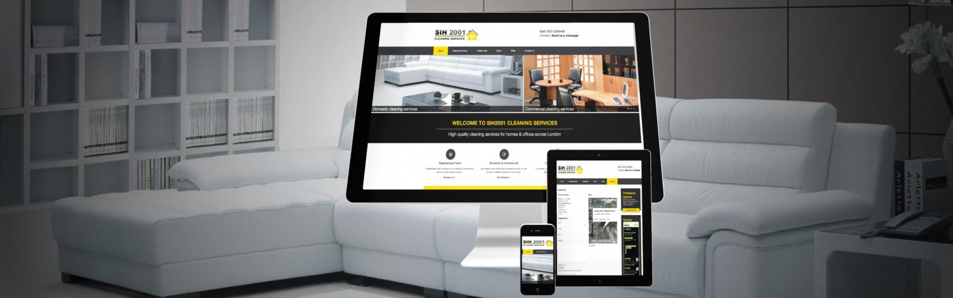portfolio new1 SIH - Web design for interior design business