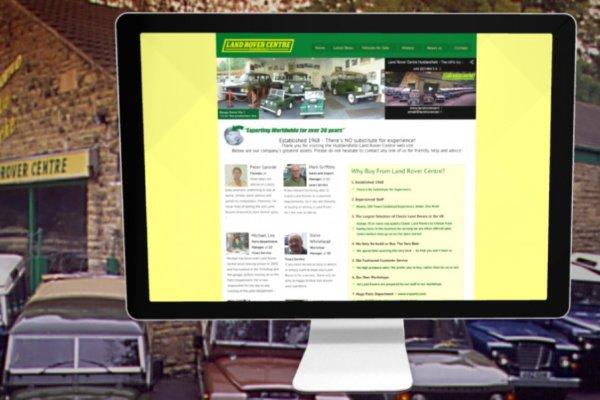 portfolio new1 lrc 600x400 - Webdesign for Land Rover car dealership