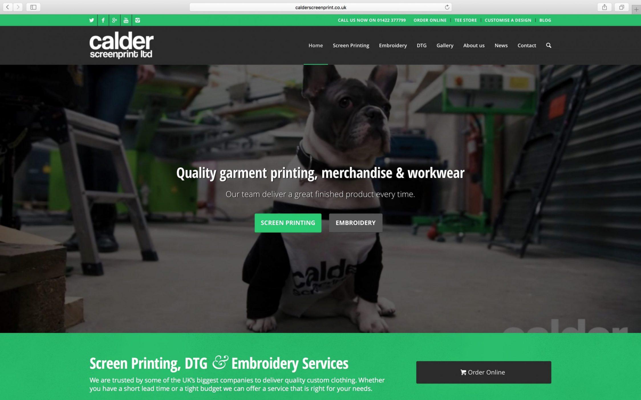 Screen Shot 2016 03 21 at 13.11.22 - Web design for screen printing company