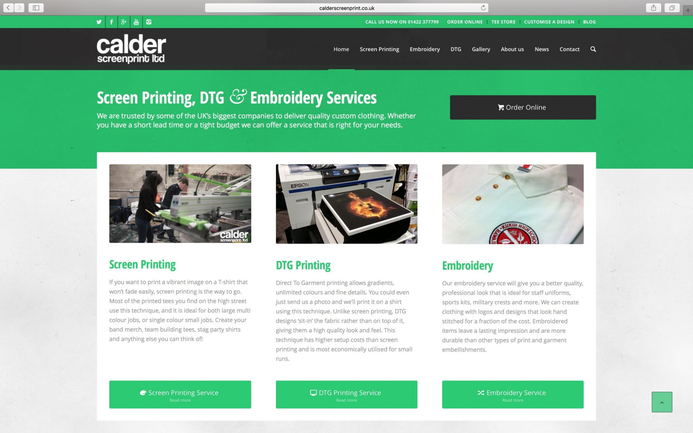 Screen Shot 2016 03 21 at 13.11.28 - Web design for screen printing company