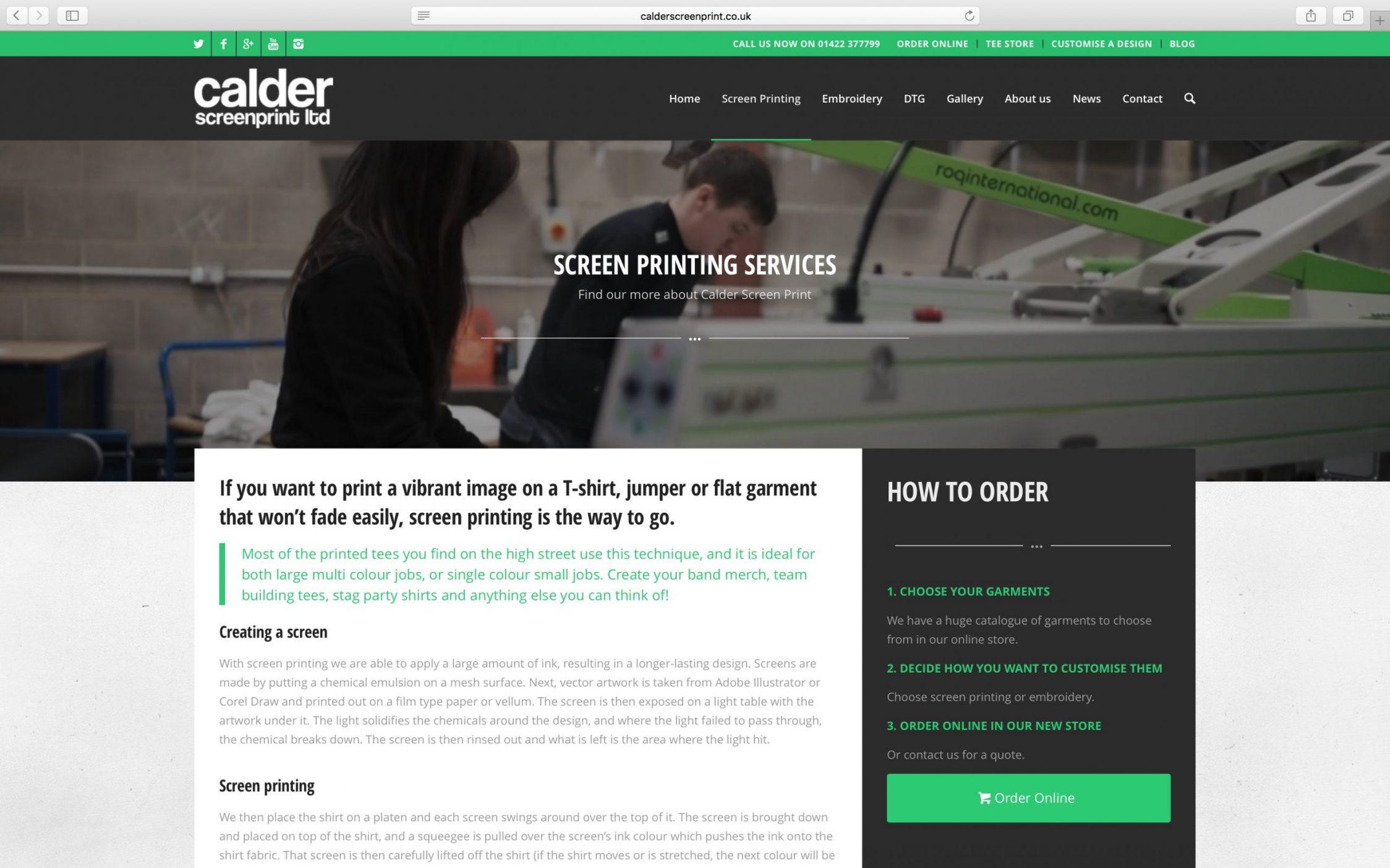 Screen Shot 2016 03 21 at 13.11.38 - Web design for screen printing company