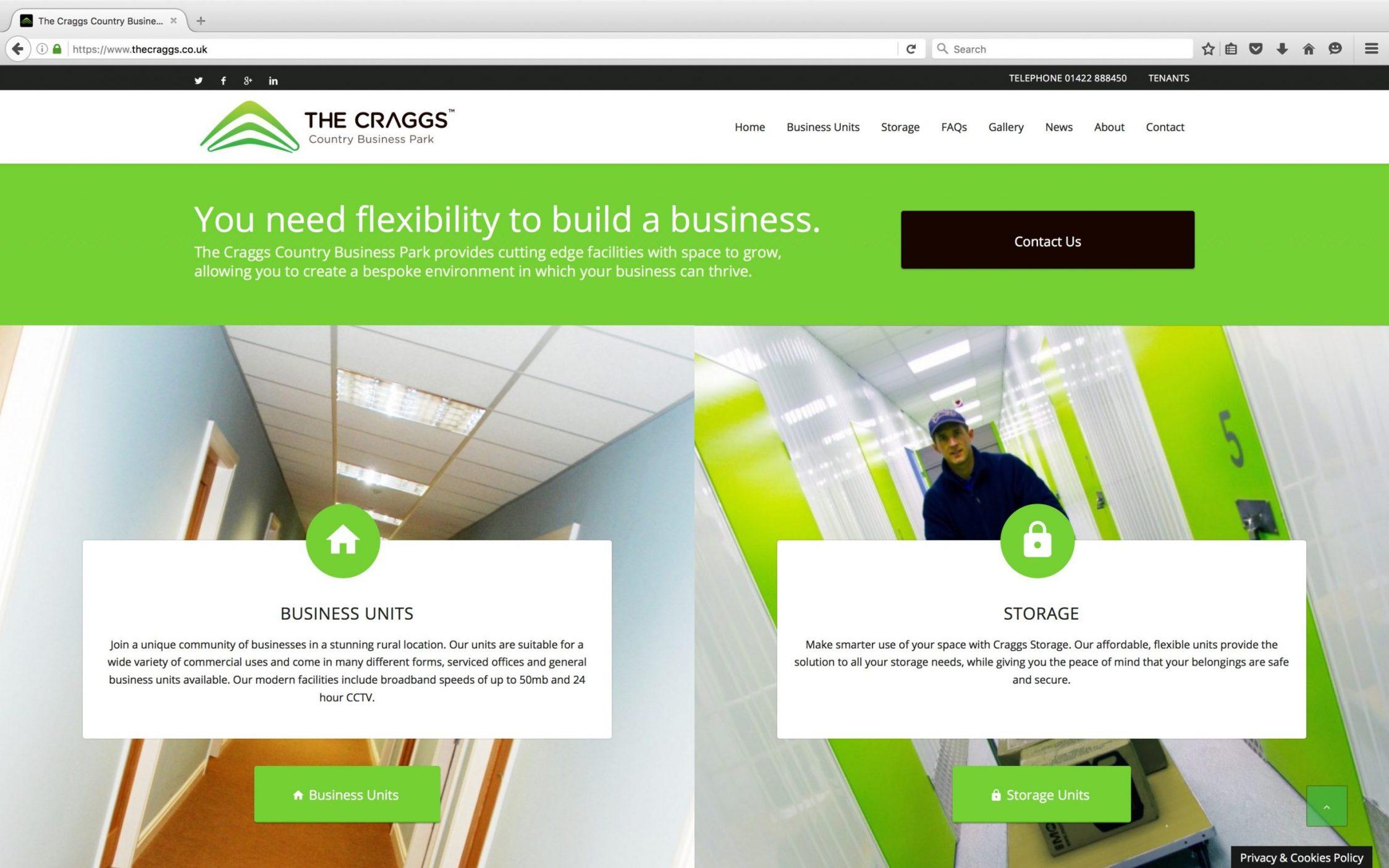 Screen Shot 2016 03 21 at 15.21.53 - Website design for business park in Yorkshire