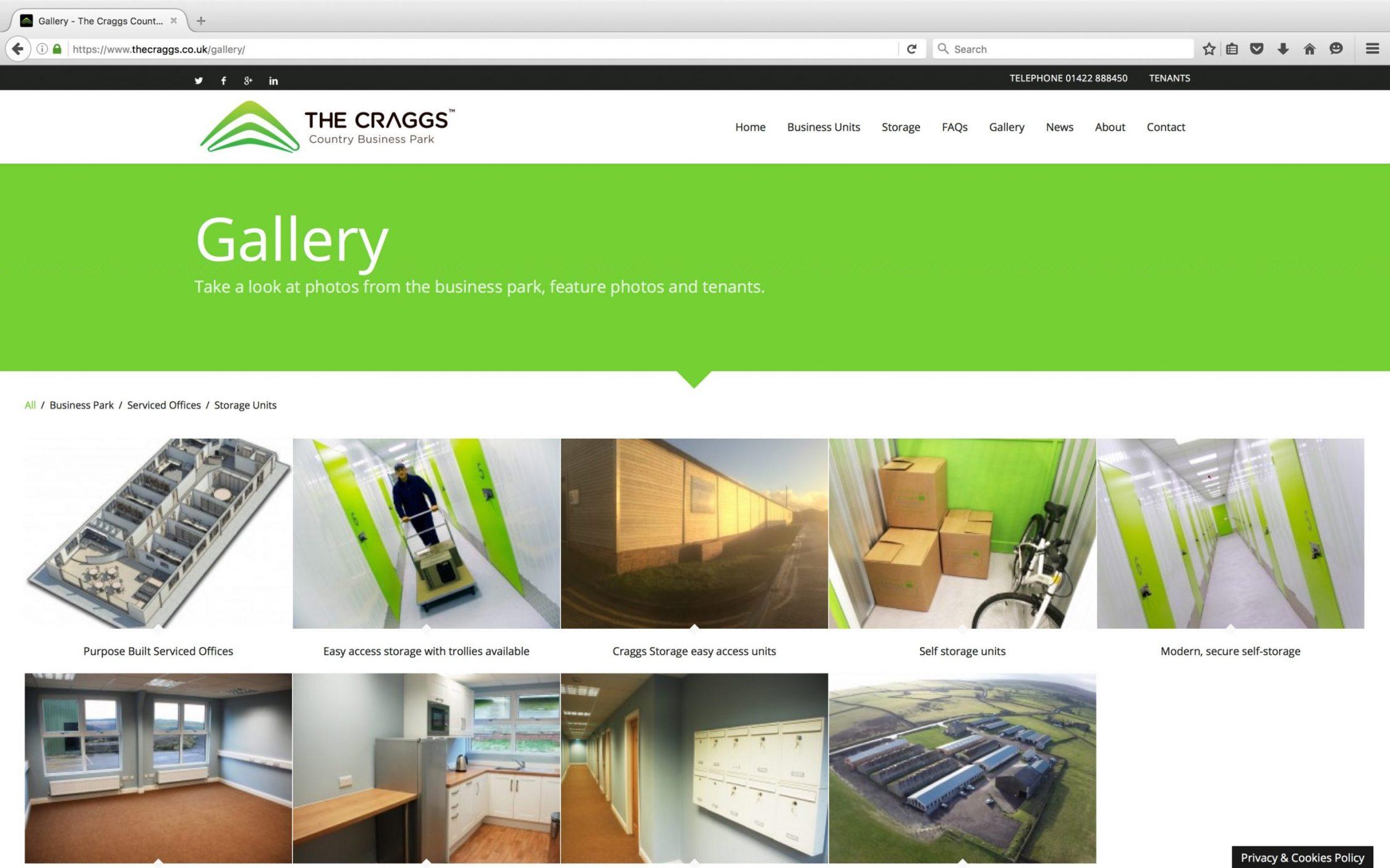 Screen Shot 2016 03 21 at 15.22.19 - Website design for business park in Yorkshire