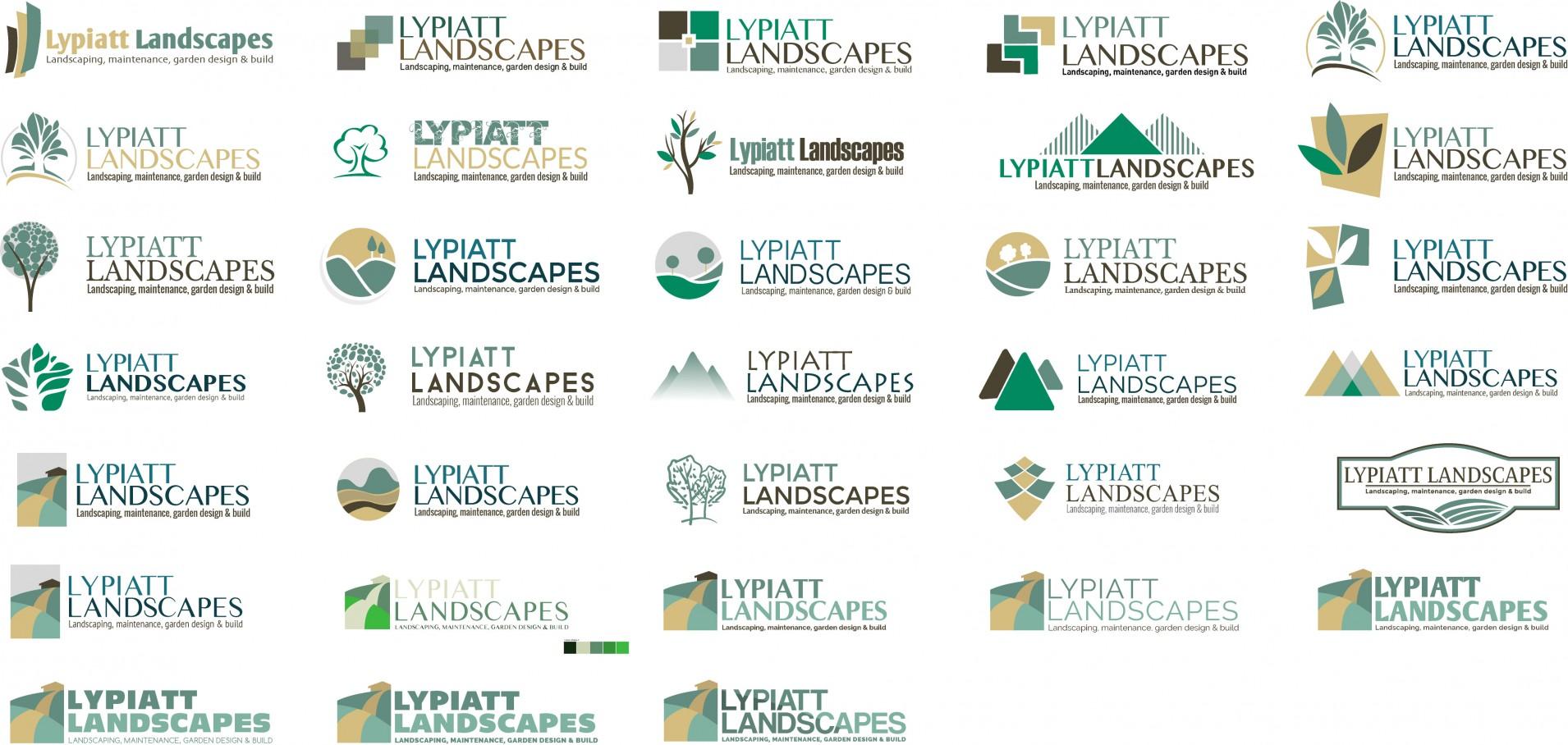 LLA logov1 - Branding & web design for landscape gardening company