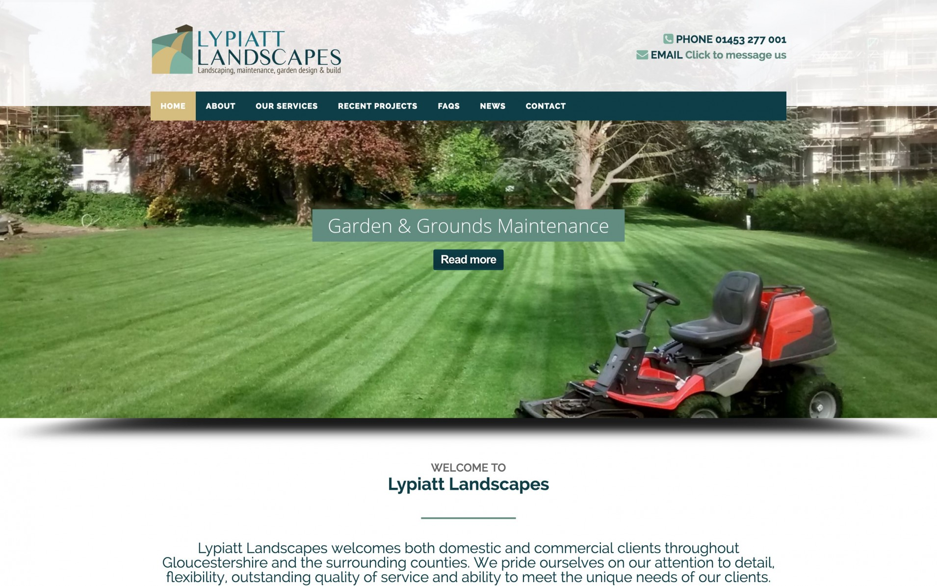 Screen Shot 2016 04 14 at 10.32.32 - Branding & web design for landscape gardening company