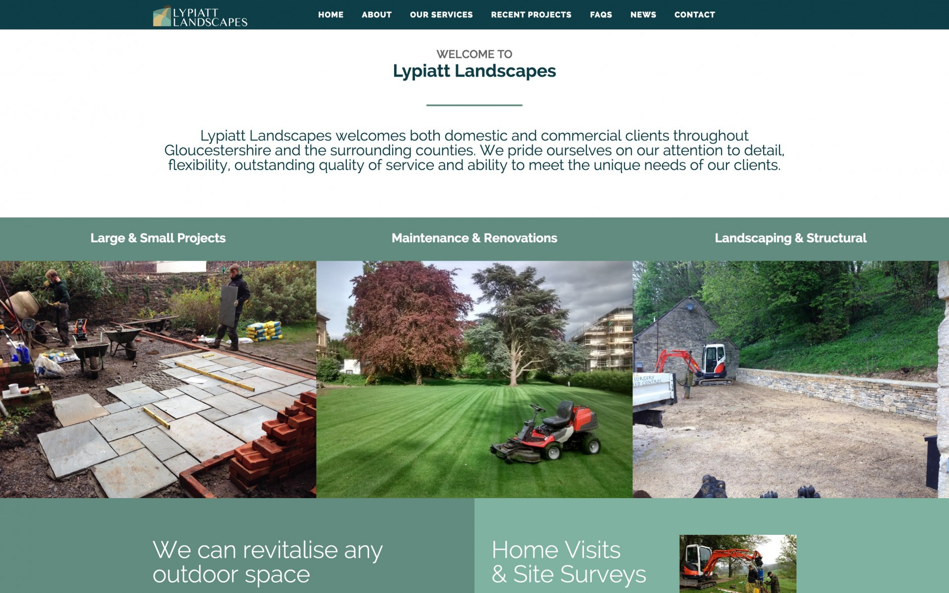 Screen Shot 2016 04 14 at 10.32.39 - Branding & web design for landscape gardening company