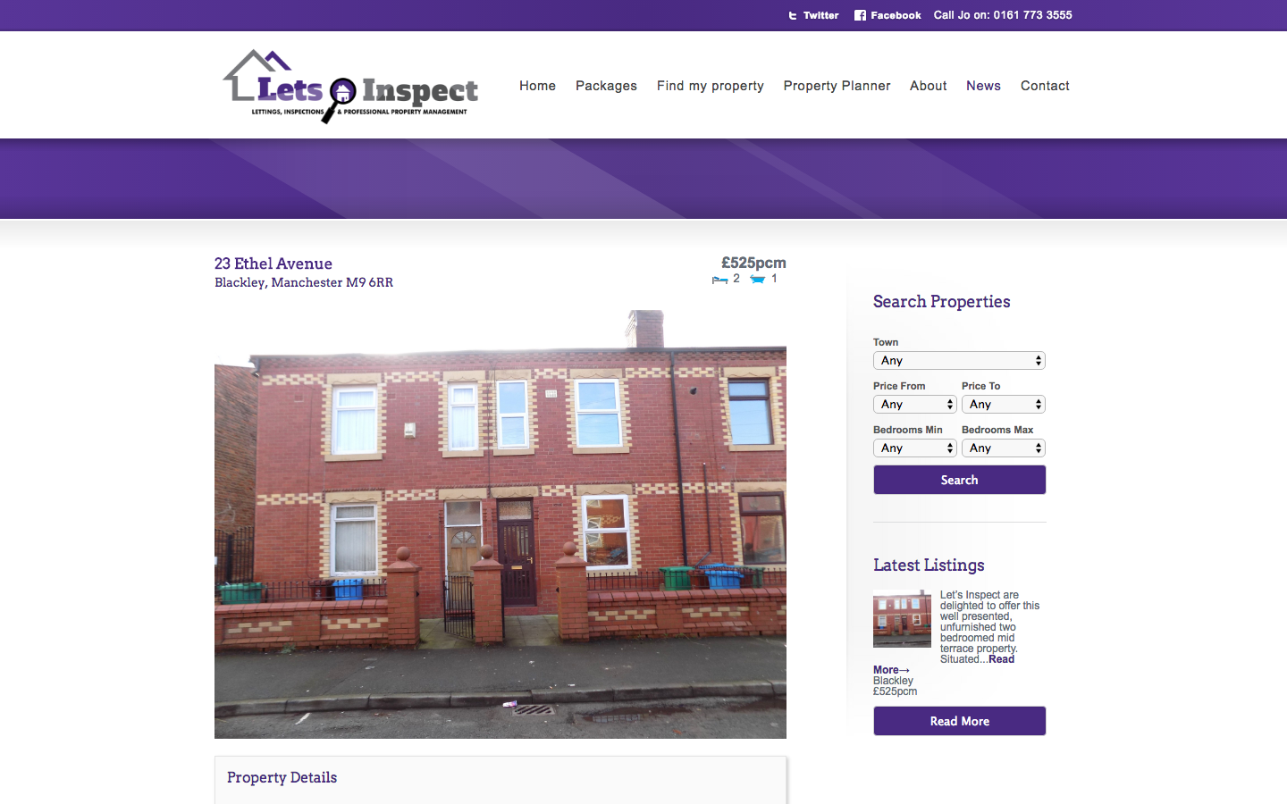 Screen Shot 2016 05 19 at 15.55.19 - Branding, web design and marketing campaign for property management company
