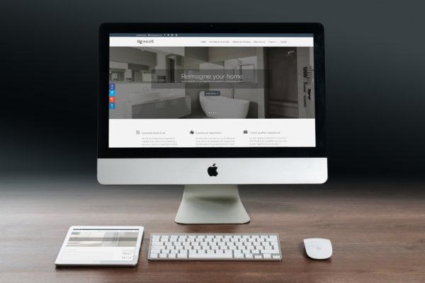 tig home portfolio 1 600x400 - Construction company web design