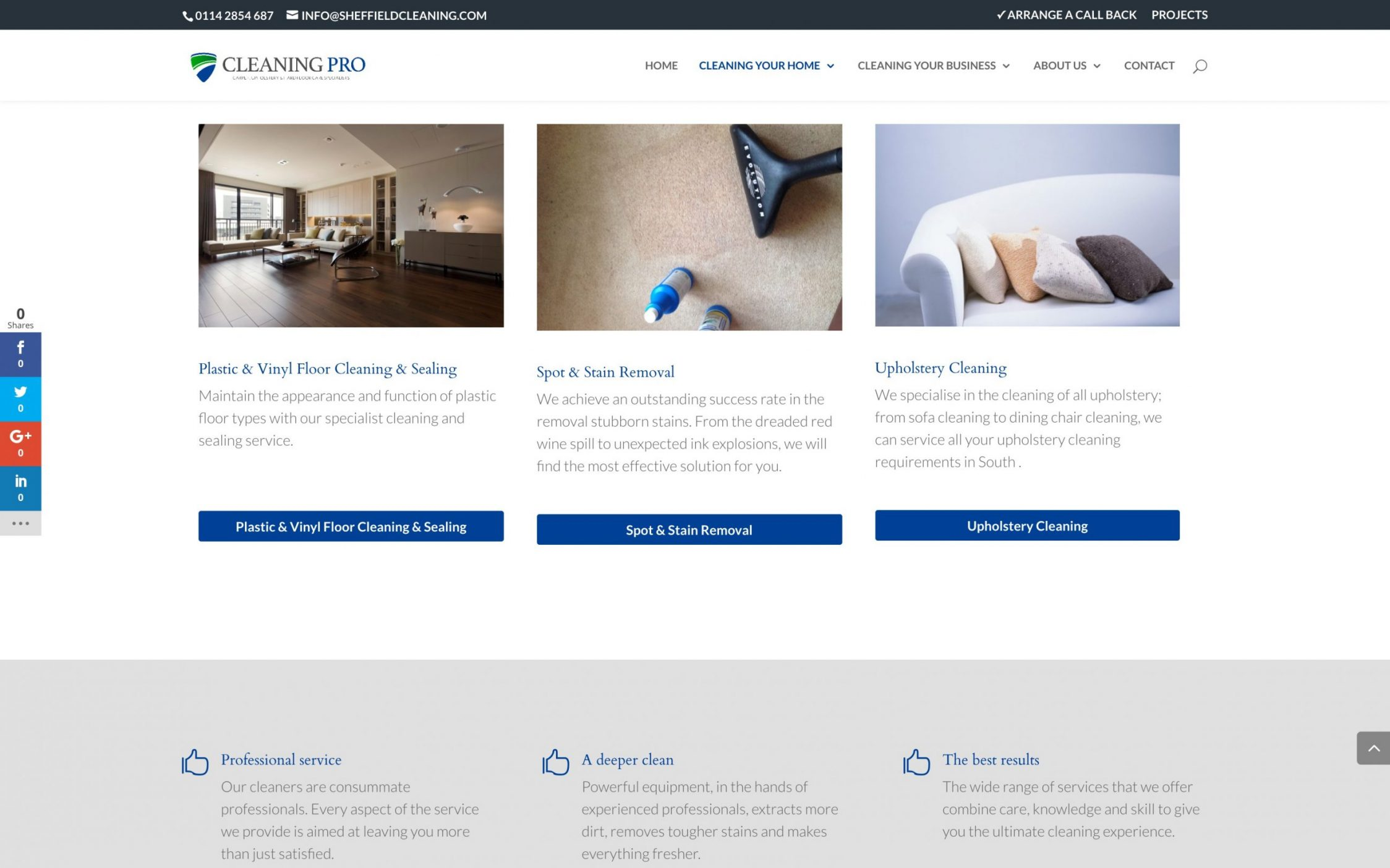Screen Shot 2016 11 09 at 15.52.48 - Carpet cleaning business webdesign