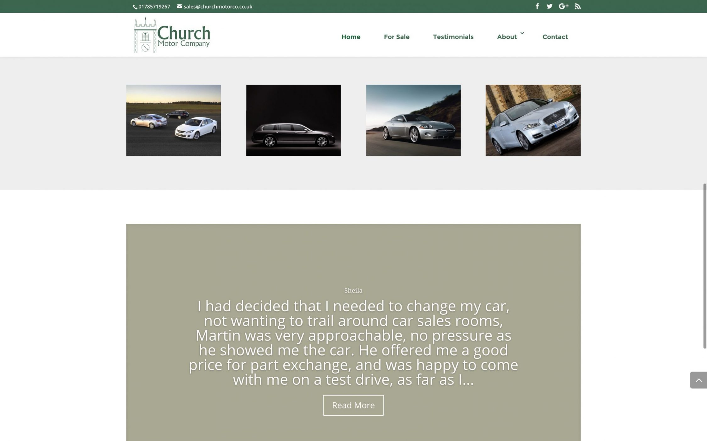 Screen Shot 2016 11 09 at 22.48.34 - Webdesign for car dealership in Midlands