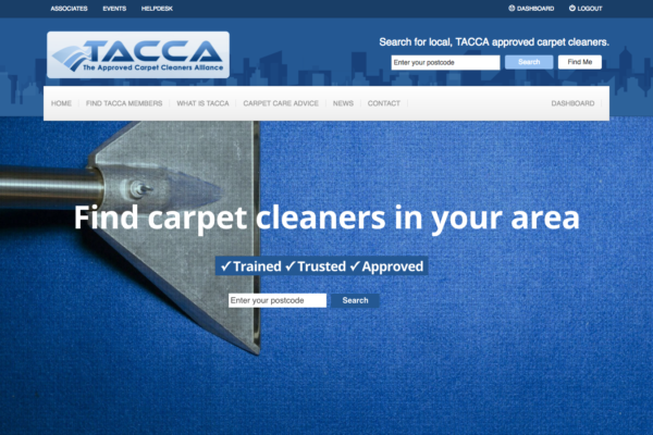 Screen Shot 2016 11 09 at 23.01.24 600x400 - Website redesign for carpet cleaning association