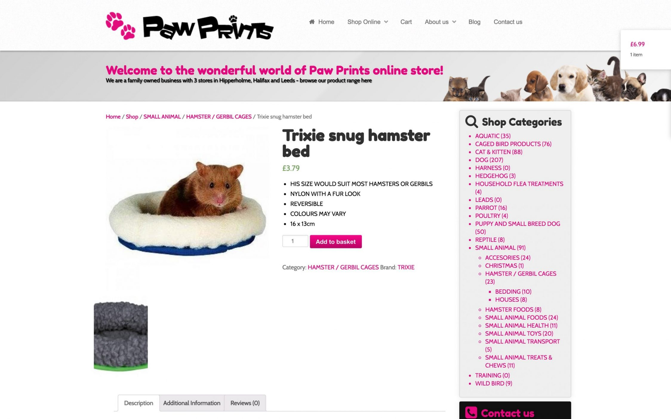Screen Shot 2016 11 09 at 23.06.26 1 - Webdesign for pet shop chain in Yorkshire