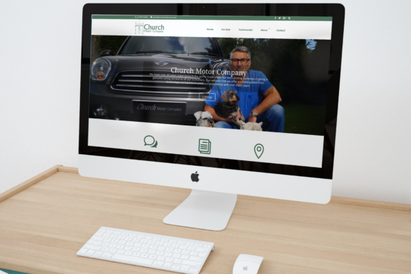 Car dealership webdesign service Manchester by Alloy Marketing