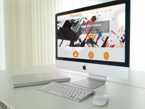 Website Design for Fitness Instructor