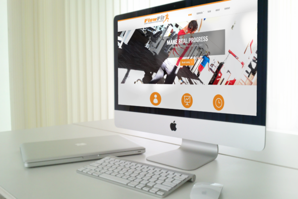 ffit website mockup1 600x400 - Website Design for Fitness Instructor