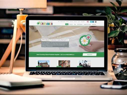 Website redesign for manufacturing business