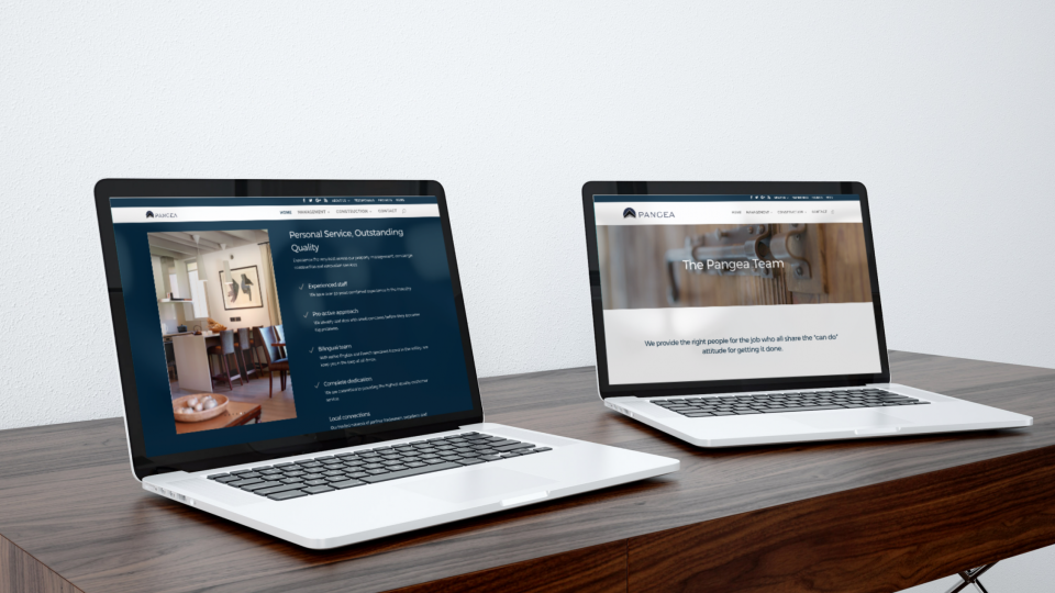 Property management company website design