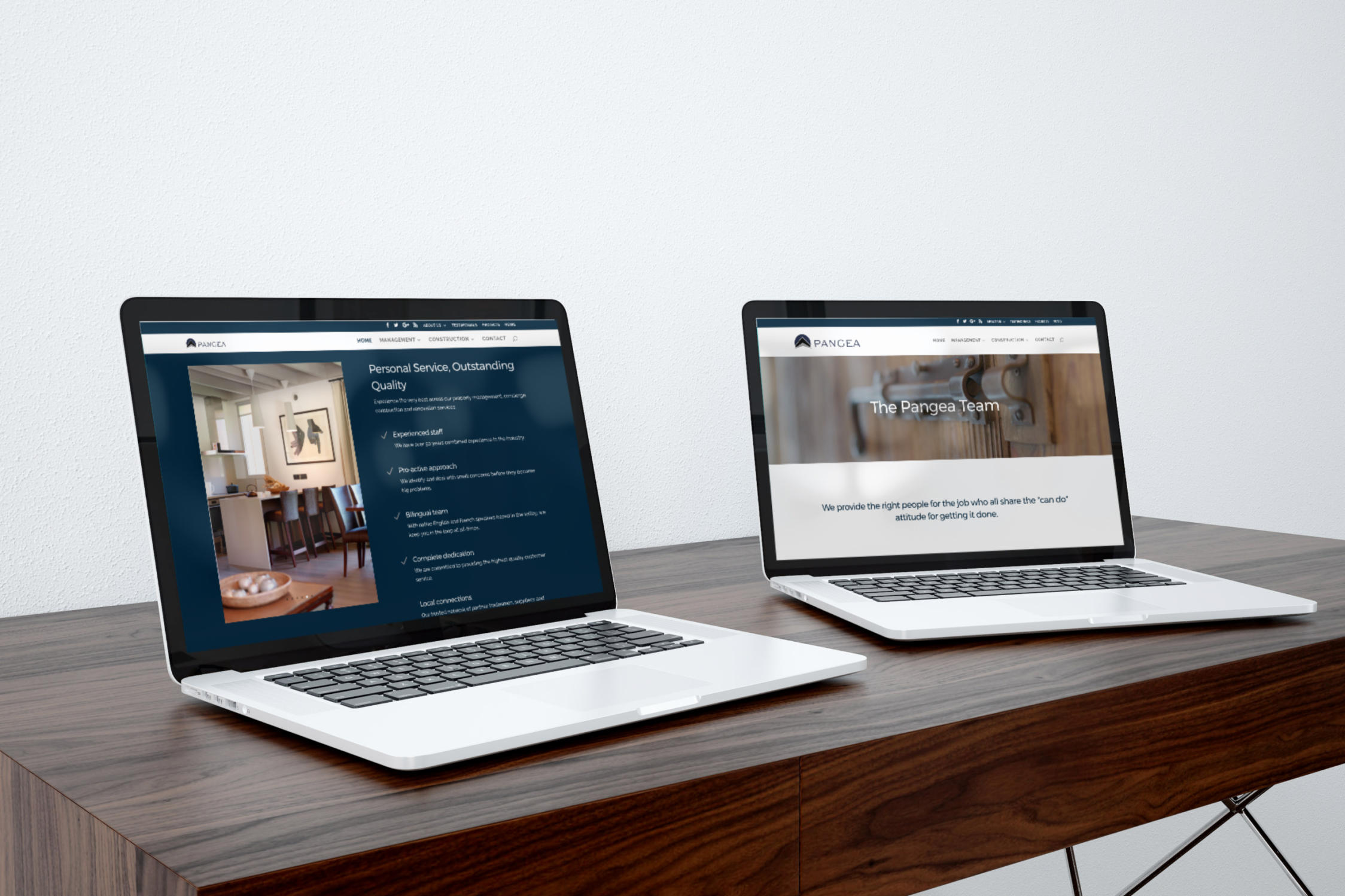 Property management company website design