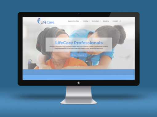 Rebranding for healthcare and training organisation