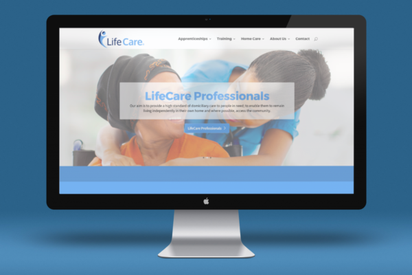 LCA mockup 600x400 - Rebranding for healthcare and training organisation