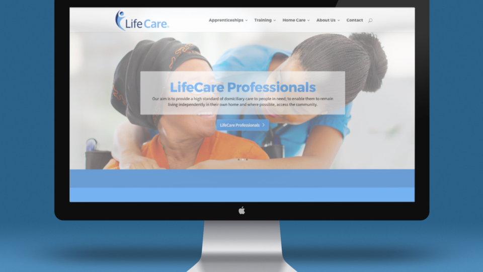 Rebranding for healthcare and training organisation